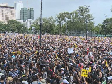 WATCH:  Inside the Hong Kong protests