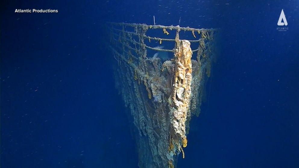 Titanic dive reveals 'shocking' finding