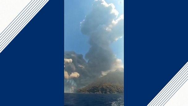 Stromboli volcano erupts in Italy