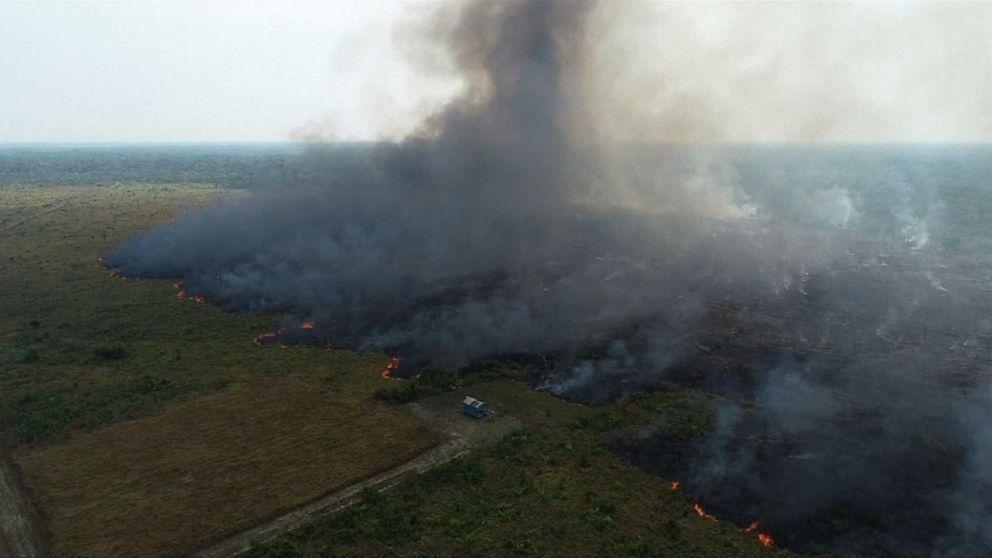 Brazil's Bolsonaro wants to discuss Amazon fires at UN