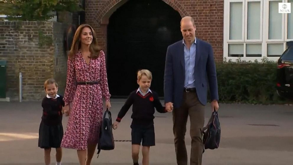 Princess Charlotte attends first day at school