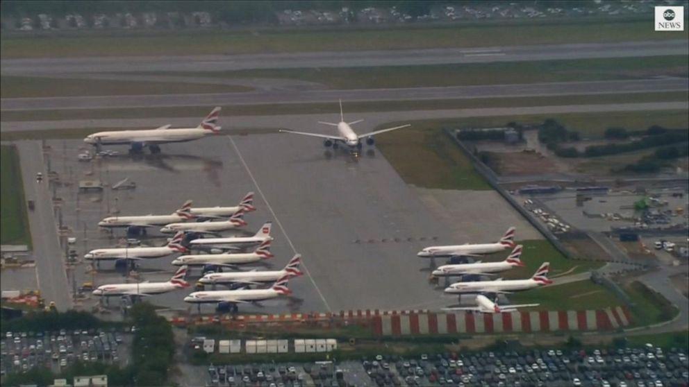 British Airline pilots begin first strike in 100-year