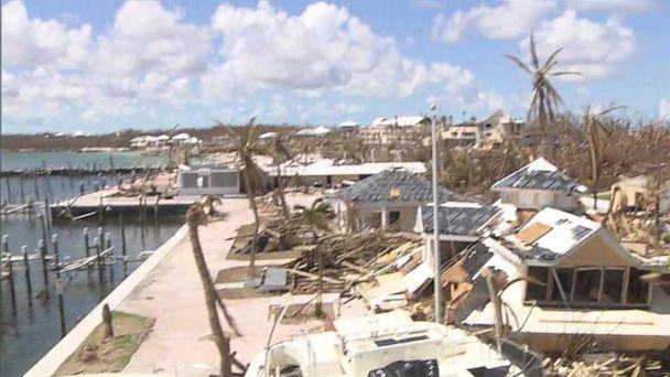 A look at the Hurricane Dorian devastation in the Bahamas
