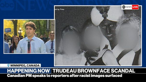 Trudeau: I did not see racism through 'layers of privilege'