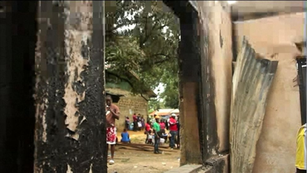 Boarding school fire kills 26 children, 1 teacher in Liberia, police say