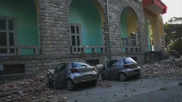 5.6-magnitude quake rocks Albania