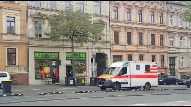 2 people shot dead outside synagogue in Germany