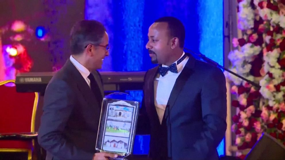 Image result for Ethiopian Prime Minister wins Nobel Peace Prize