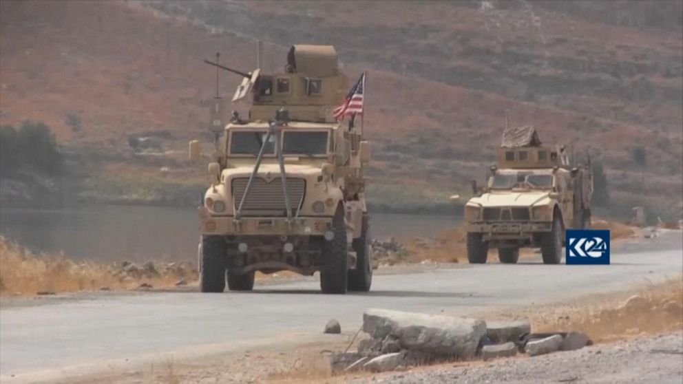 Violence at Syria/Turkey border after US withdraws troops