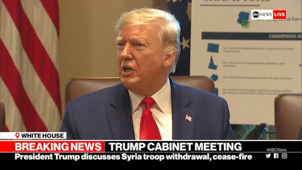 Trump: US never agreed to protect Kurds in Syria
