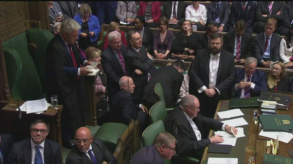 Boris Johnson's Brexit vote blocked by Speaker