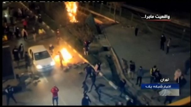 Iran leader says protests were part of U.S. 'conspiracy'