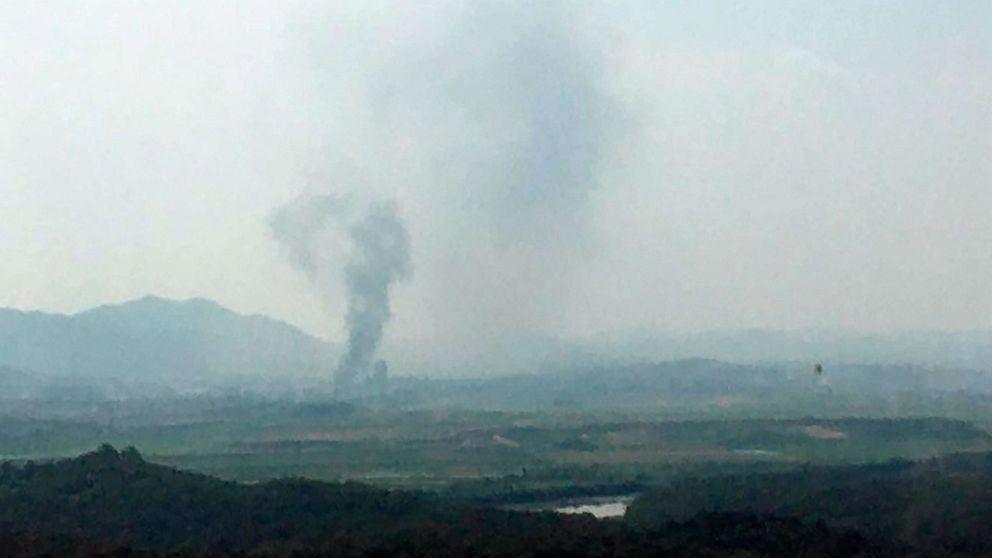 North Korea blows up liaison office with South Korea thumbnail