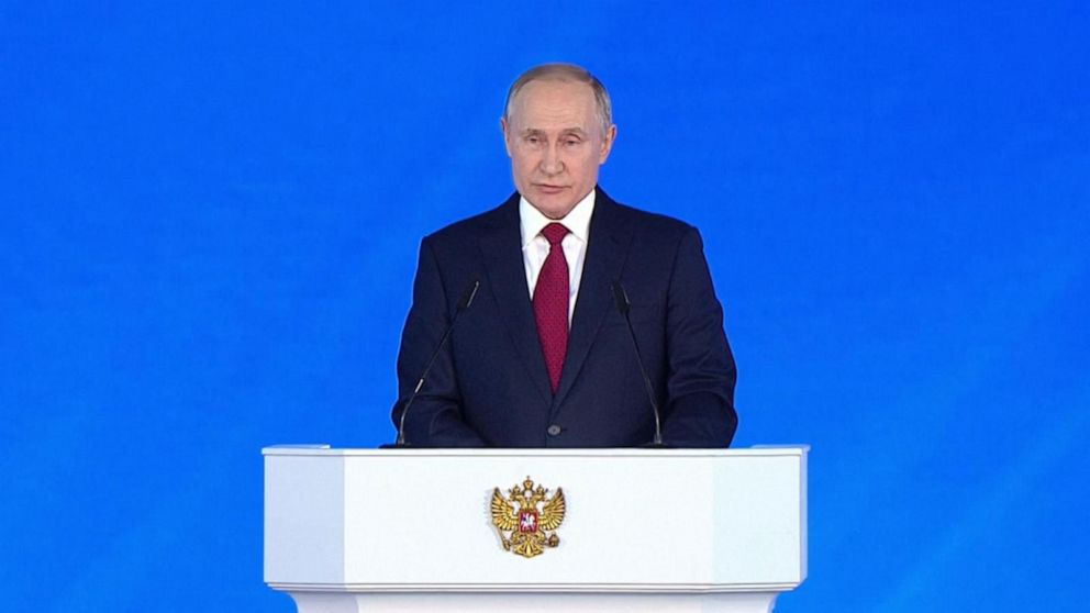 Russia S Putin Says He Opposes Unlimited Presidential Term Abc News