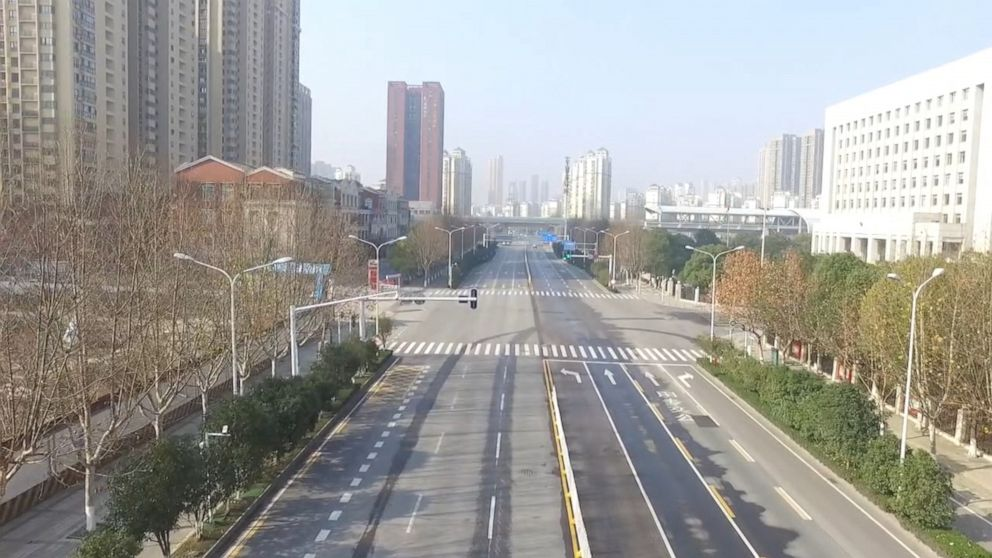 Image result for wuhan ghost town