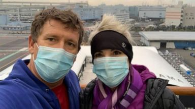 Couple separated by Pacific Ocean -- and coronavirus