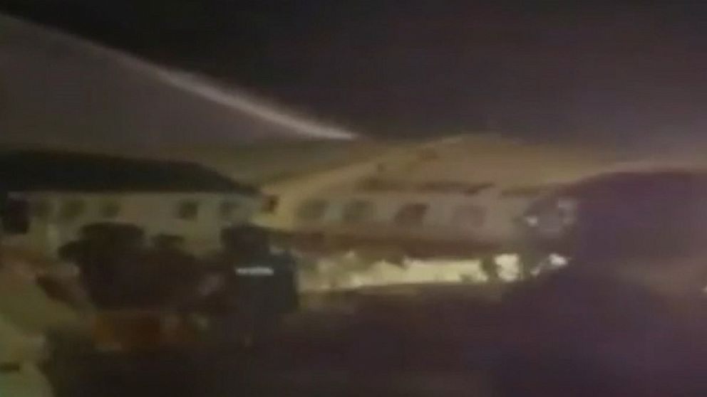 Air India Plane Crashes On Landing With Almost 200 Onboard Abc News