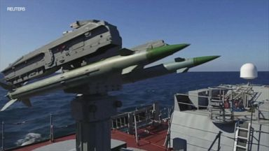 Russia stages firing drills at sea