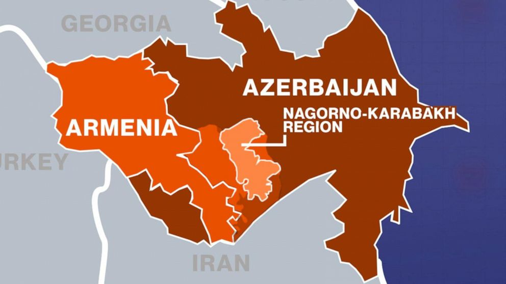 Armenians torch their homes on land ceded to Azerbaijan - ABC News