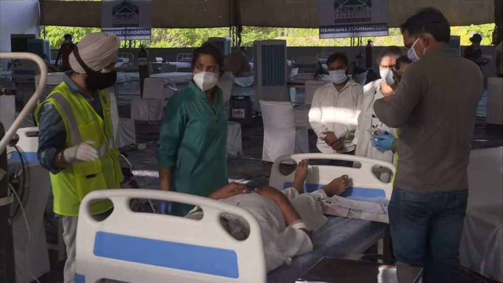 Hospital beds, oxygen running out as India's COVID-19 crisis worsens