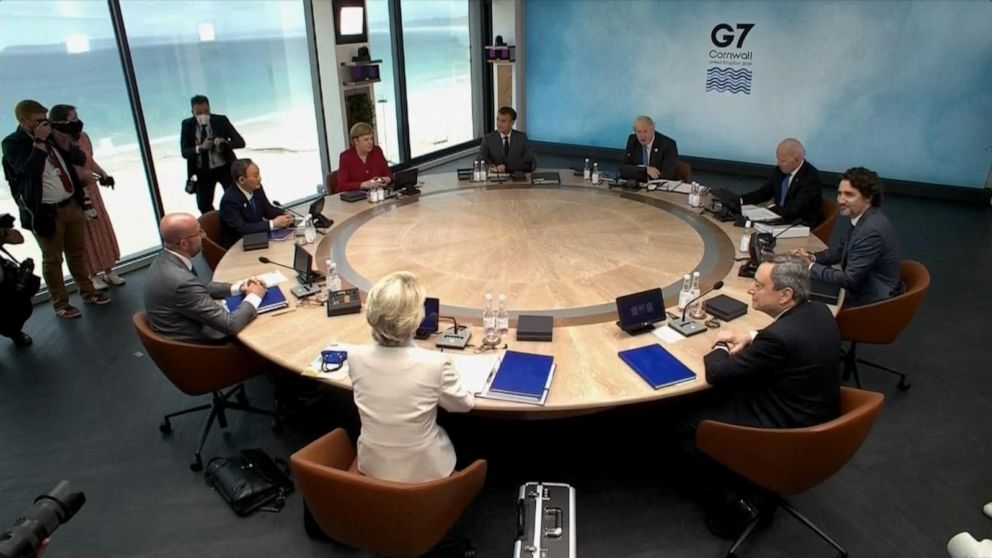 ABC News Live Update: Biden meets with world leaders at G7 summit