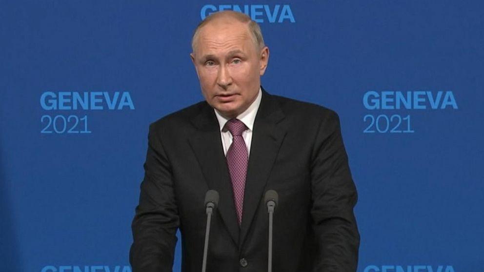 Putin says Biden meetings were constructive, not hostile