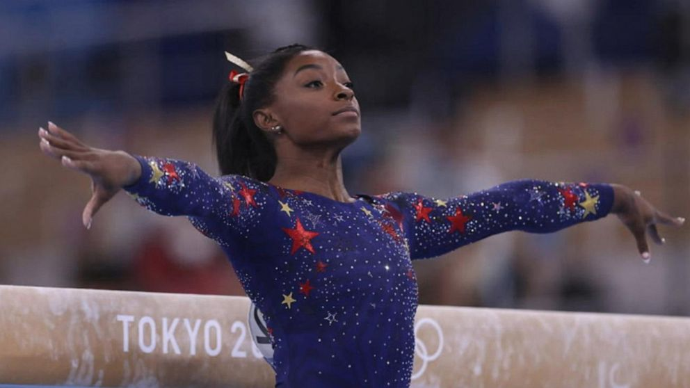 Simone Biles to compete in balance beam final as Team USA racks up medals