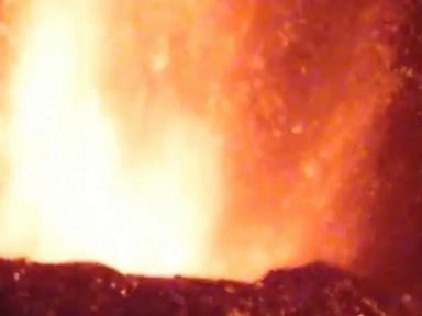 WATCH:  Volcanic activity continues on La Palma