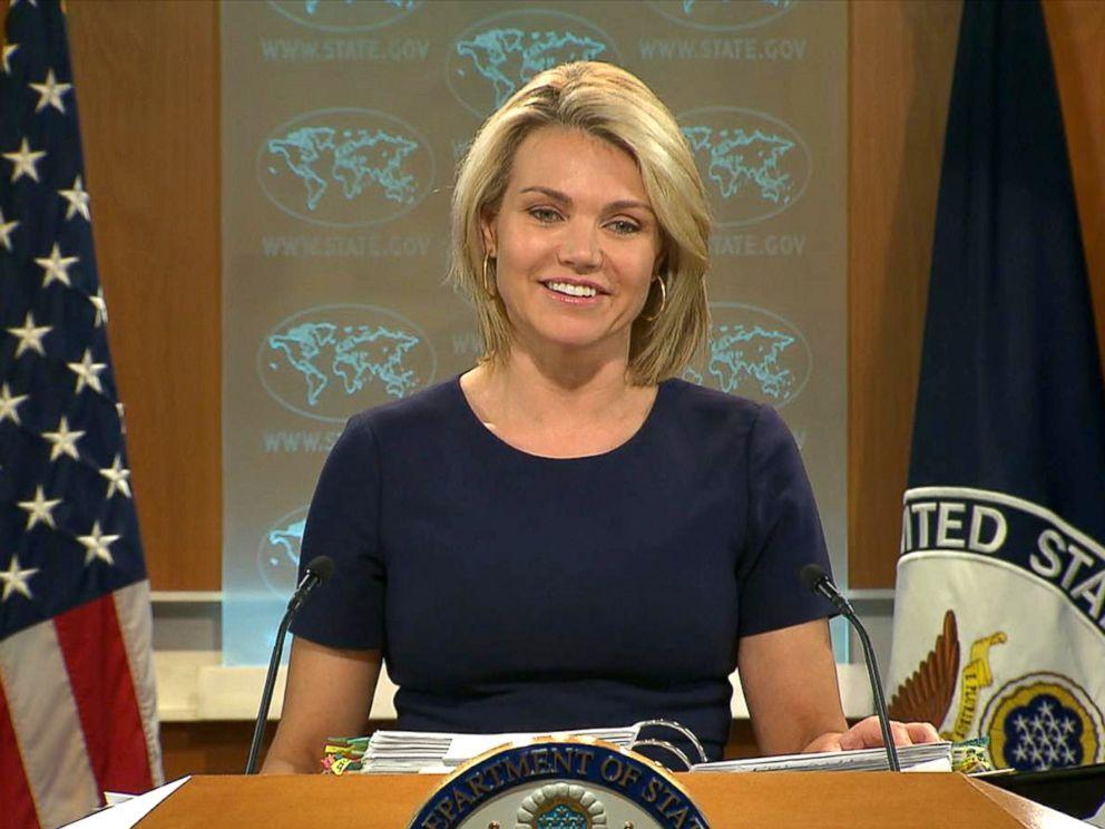 PHOTO: State Department spokeswoman, Heather Nauert, June 8, 2017.