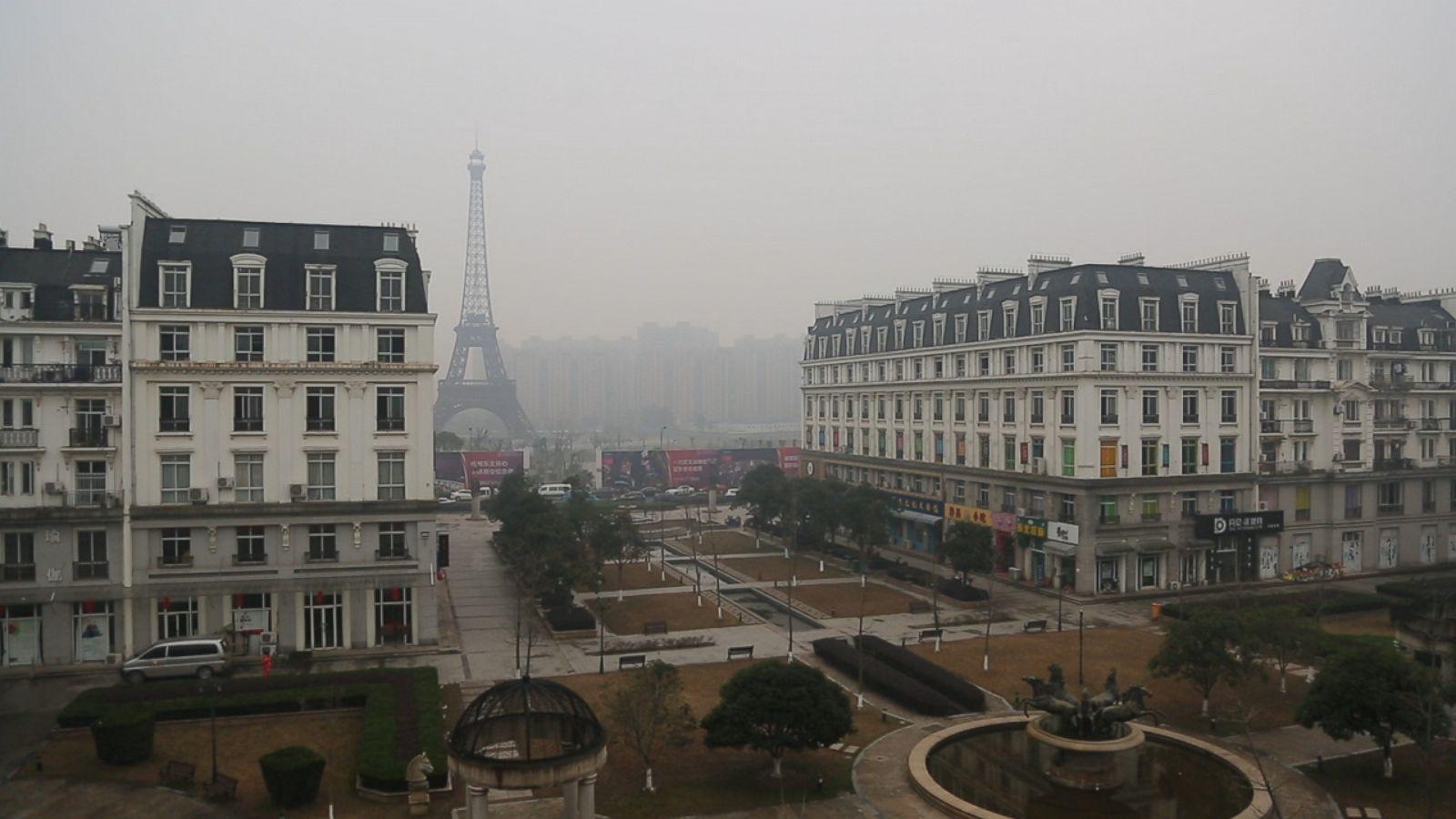 Chinas Fake Cities Are Eerie Replicas Of Paris London And Jackson Hole Wyoming