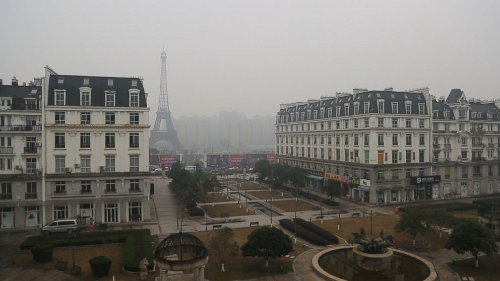 China's 'Fake' Cities Are Eerie Replicas of Paris, London ...