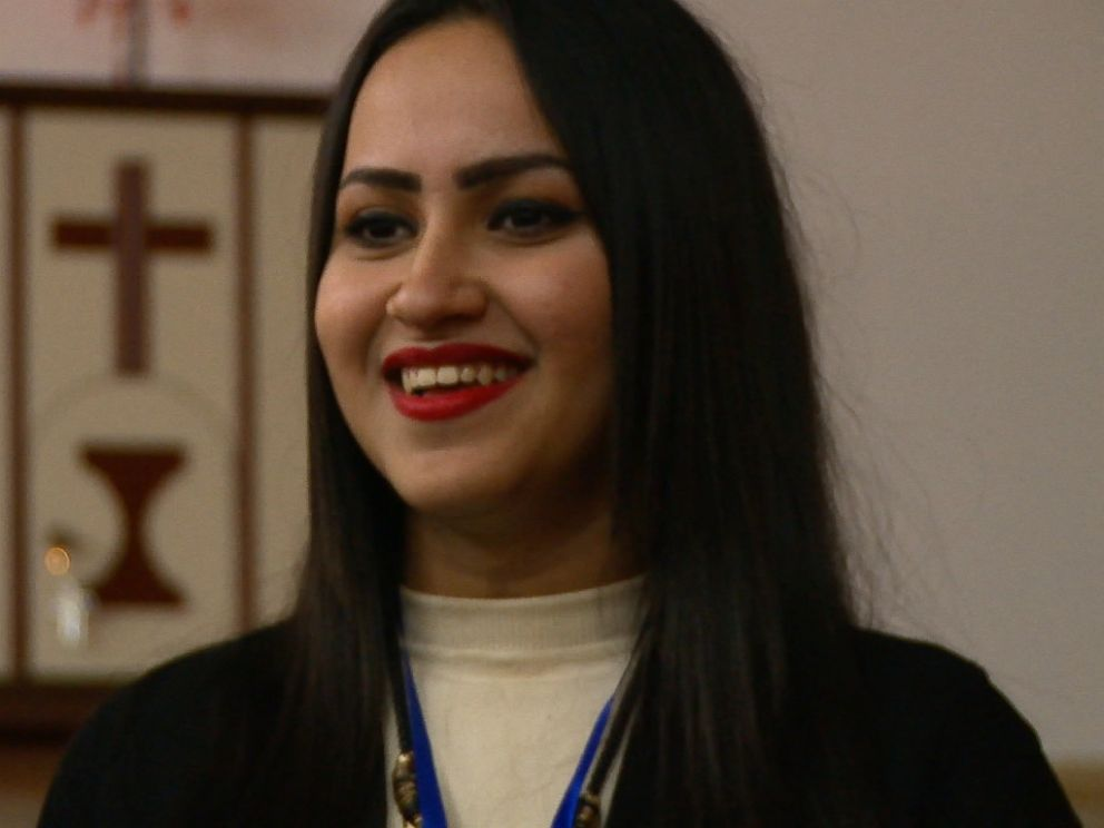 Rita Khaleel Majeed, 19, loves makeup and fashion and dreams of becoming a journalist or an actress.