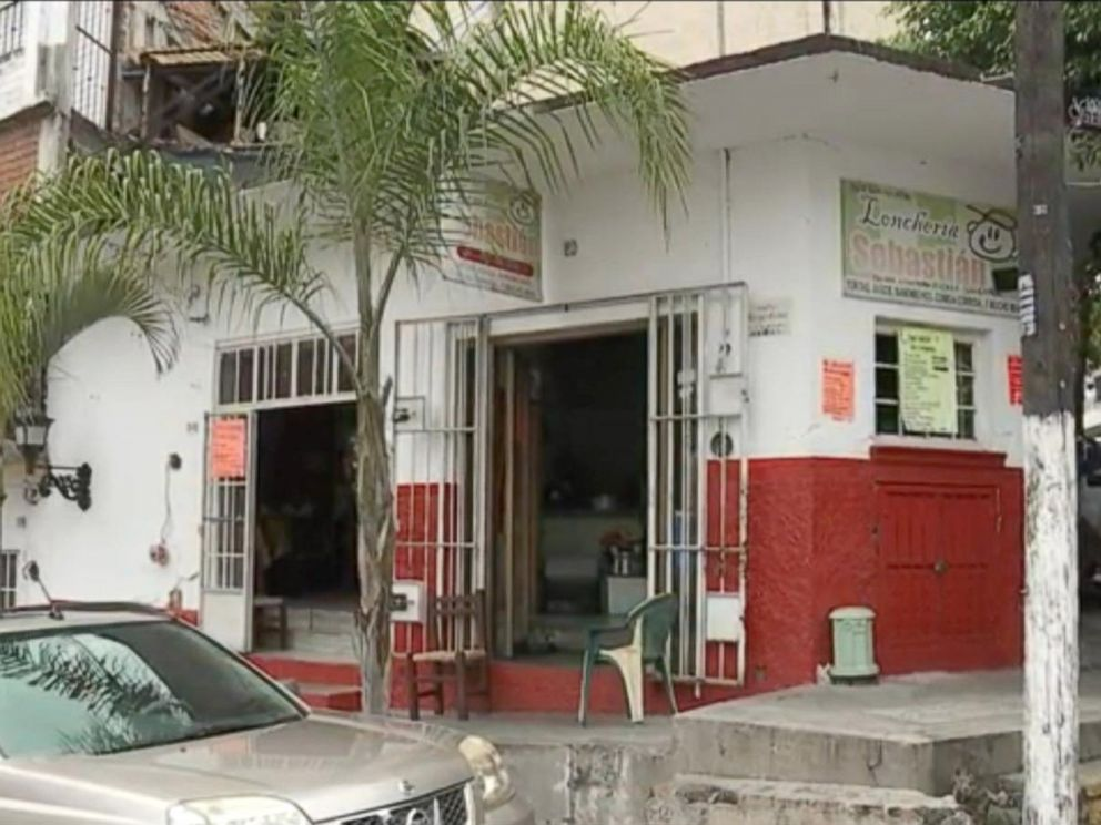 PHOTO: The owner of this luncheonette in Puerto Vallarta, Mexico said that Ethan Couch ate here while he was on the run from American authorities.