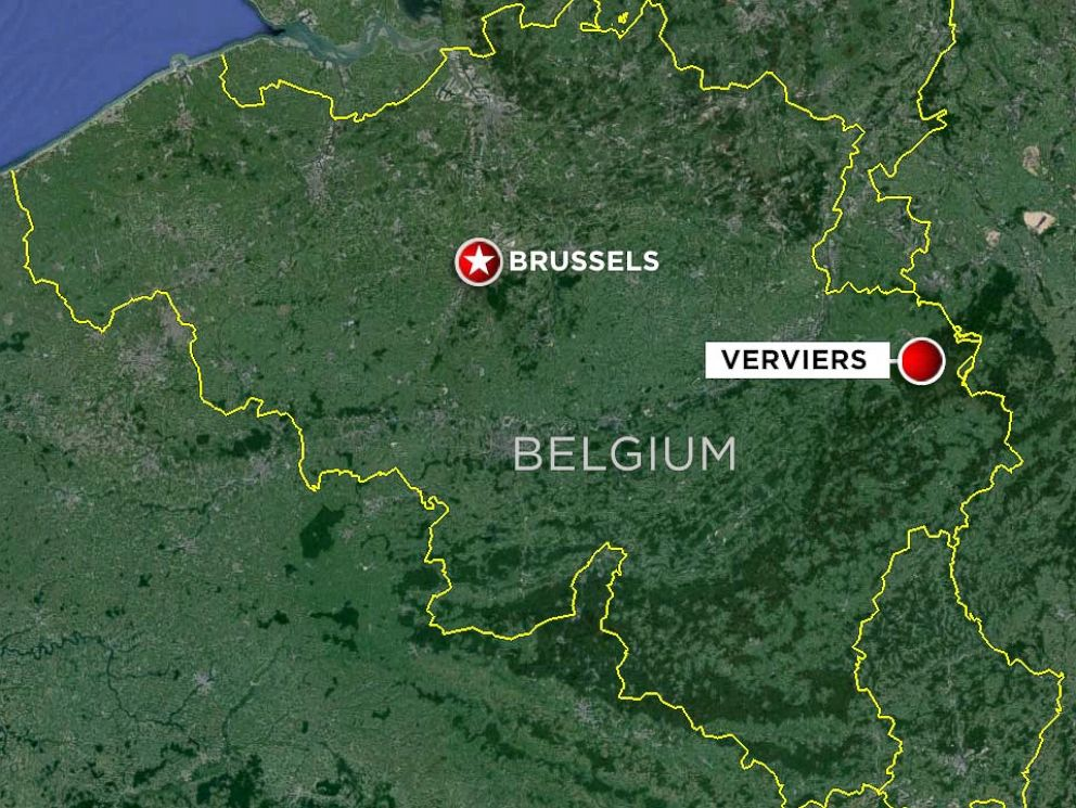 PHOTO: Explosions and gunfire have been reported in Verviers, Belgium, as part of a police operation.