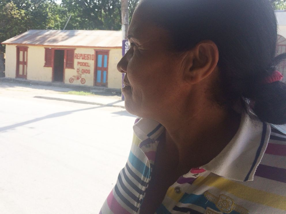 PHOTO: In Salinas, a small town in the Dominican Republic, a woman named Maria Felis says she remembers American doctors coming to town to take guevedoces to New York.