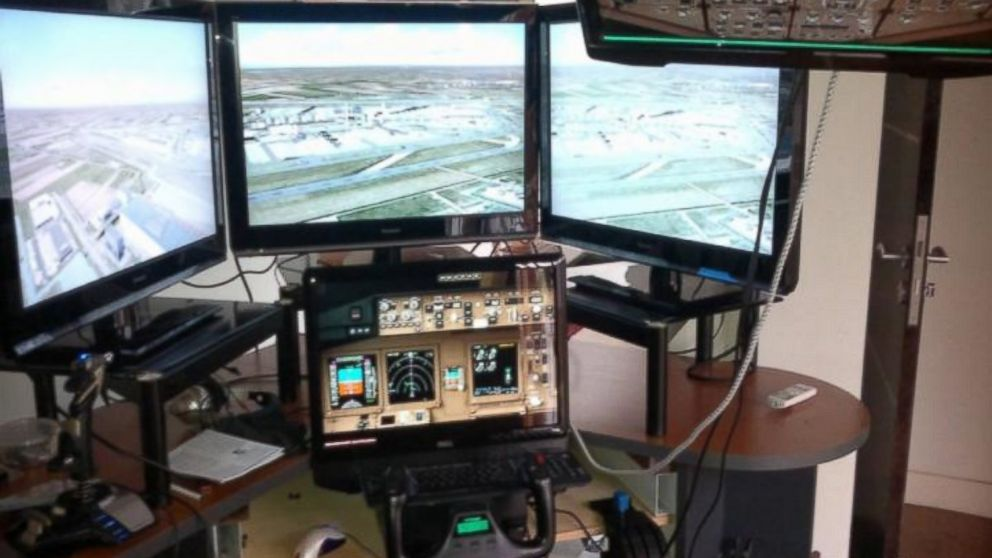 Clues Sought in Malaysian Airlines Pilot's Homemade Flight Simulator