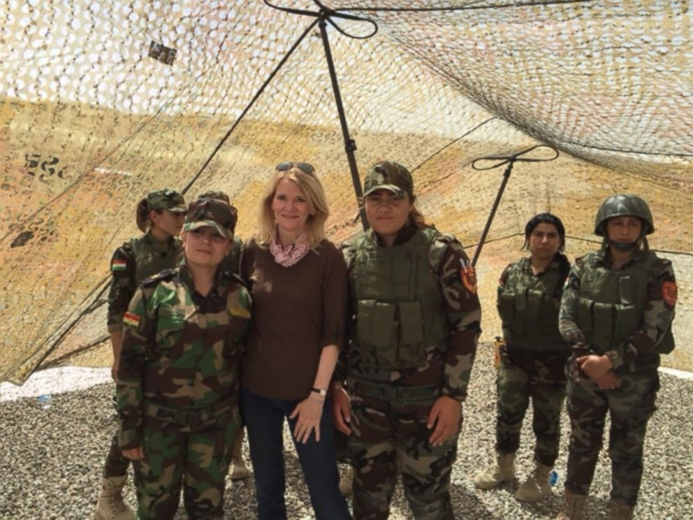 Women at War: Meet the Female Peshmerga Fighters Taking on ...