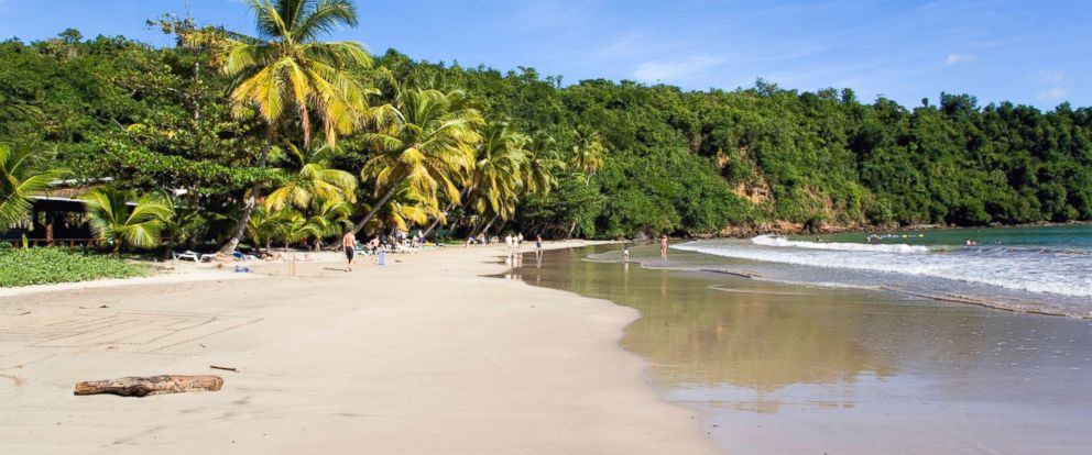 In this file photo, the region of St. David in the caribbean island of Grenada is seen.