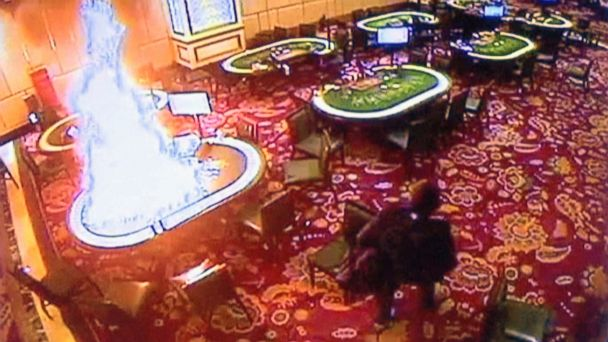 Video from Manila resort attack shows gunman setting fire to casino