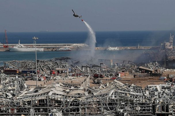 1 American Among 135 Dead In Massive Beirut Explosion Officials Say Abc News