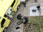 Police shoot suspect as stolen ambulance crashes into bystanders in Oslo
