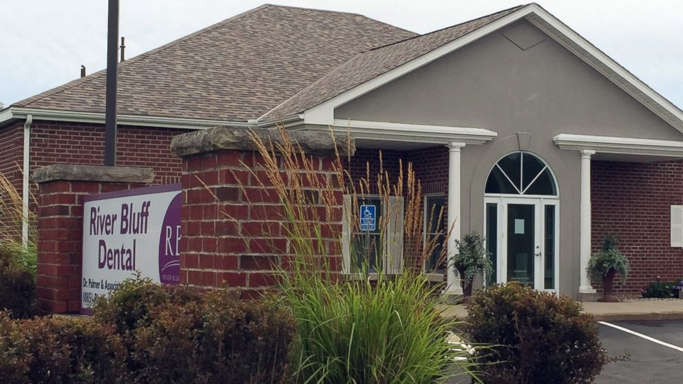 This photo shows the dental offices of Walter James Palmer, July 28, 2015, in Bloomington, Minn.