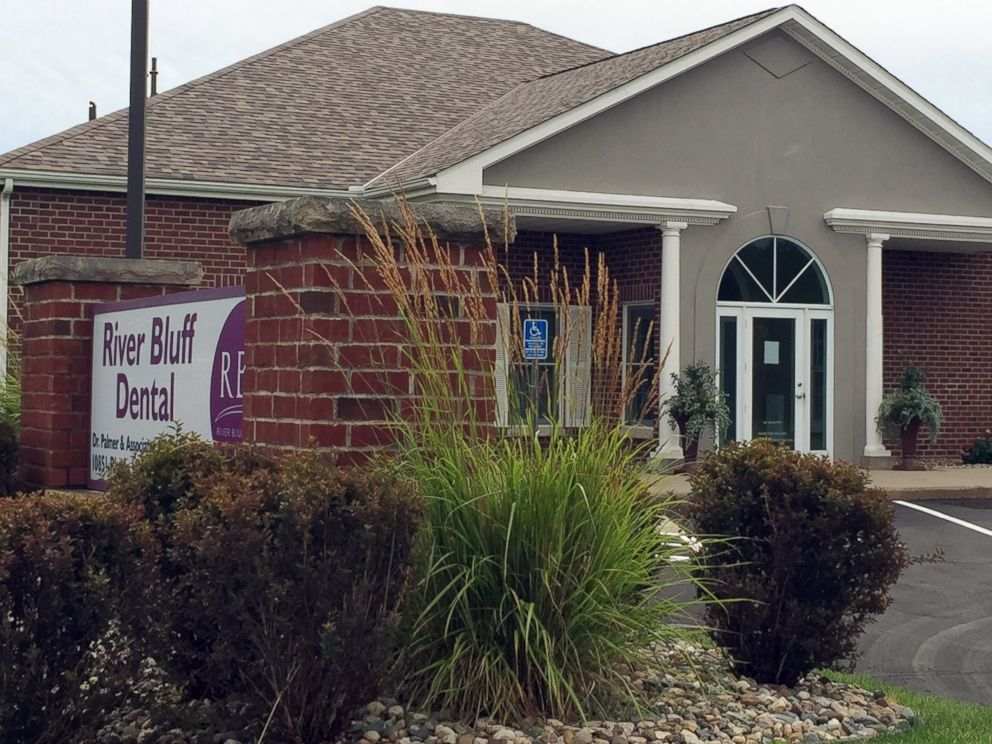 PHOTO: This photo shows the dental offices of Walter James Palmer, July 28, 2015, in Bloomington, Minn.