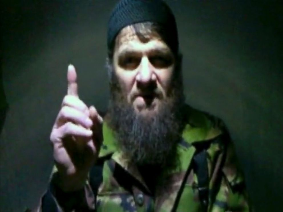 PHOTO: Insurgent leader Doku Umarov speaking in a video in which he claims responsibility for deadly suicide bombing at Russias largest airport, released Feb. 7, 2011, by The Kavkaz Center, a website affiliated with Chechen rebels.