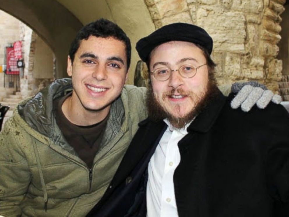 PHOTO: Sean Carmeli, left, seen here in a 2012 photo provided by Rabbi Asher Hecht, was killed in combat in the Gaza Strip, July 20, 2014, while fighting for the Israel Defense Forces.