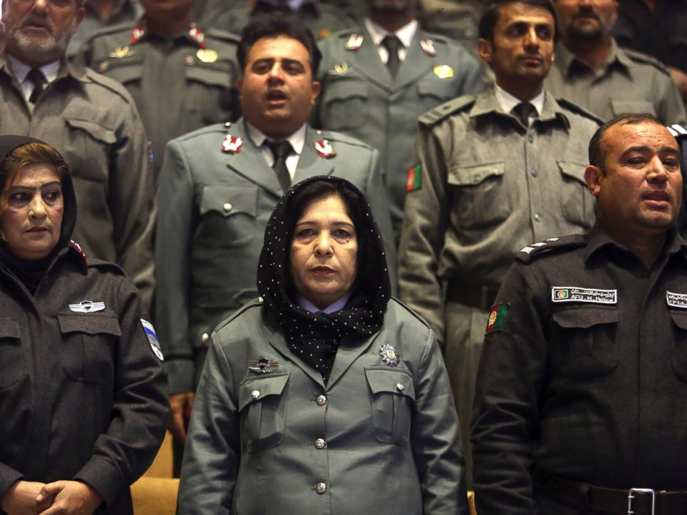 PHOTO: In this picture taken on Sunday, Dec. 21, 2014, Afghanistans police officers participate in a graduation ceremony in Kabul, Afghanistan.