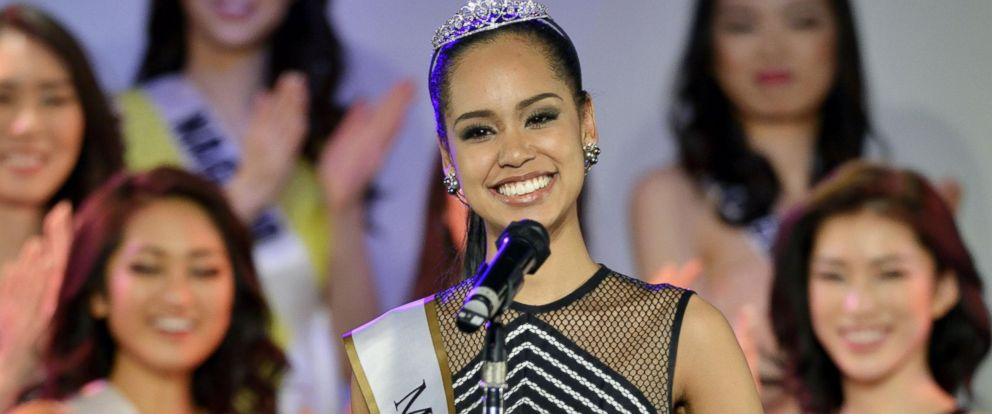 PHOTO: Ariana Miyamoto is pictured in Tokyo on March 12, 2015.