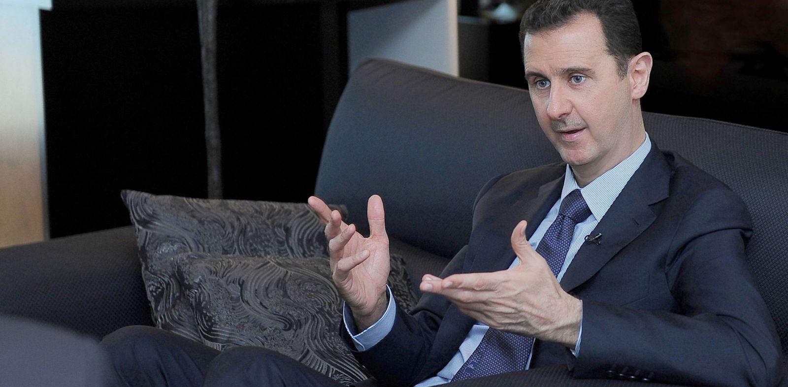 PHOTO: Syrian President Bashar Assad