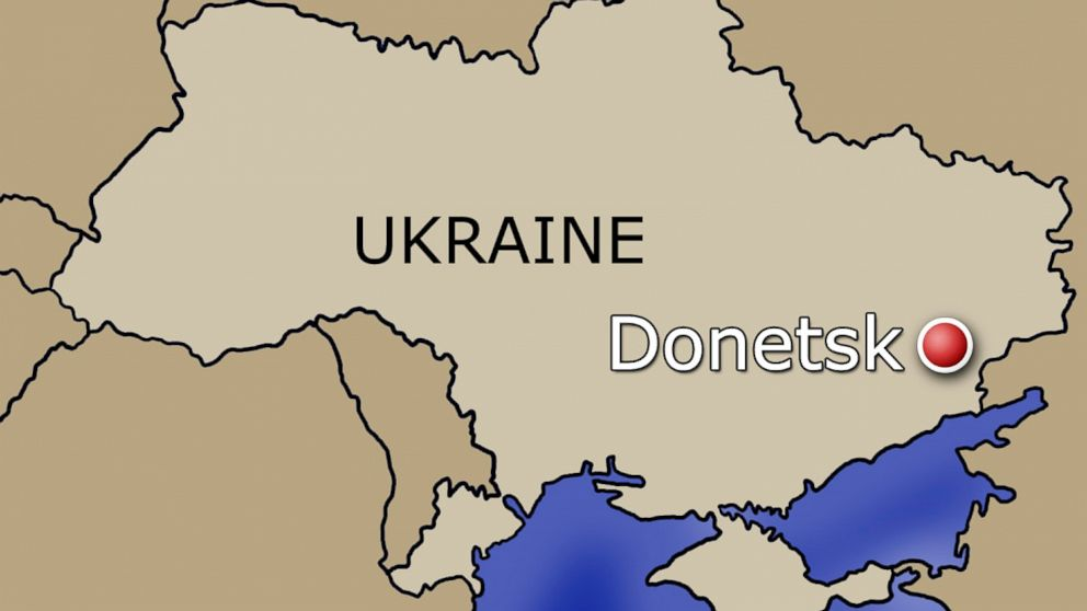 PHOTO: Two jets were shot down near the Donetsk region, July 23, 2014.