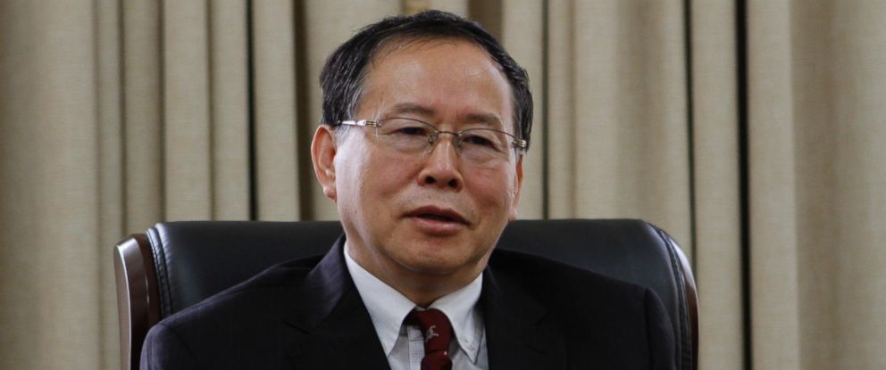 PHOTO: Han Song Ryol, director-general of the U.S. affairs department at North Koreas Foreign Ministry, talks during an interview with the Associated Press in Pyongyang, North Korea, July 28, 2016.